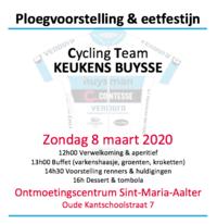 8 Maart 2020 : Ploegvoorstelling CT Keukens Buysse 2020